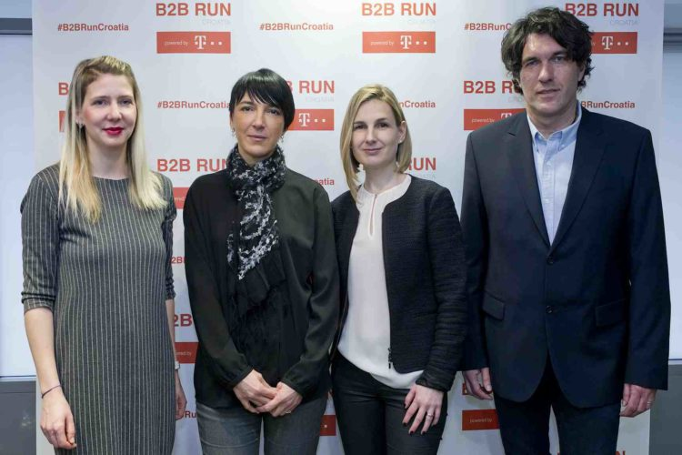 B2B RUN brings a positive atmosphere and team spirit to four cities
