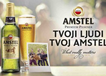 Amstel Premium Pilsener and Communis mindful of what's important