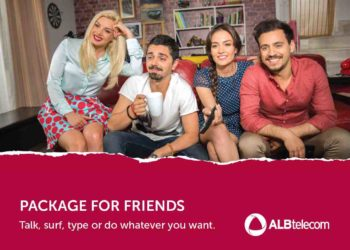 #AmongFriends – new communication platform of New Moment Tirana for ALBtelecom