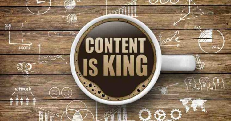 "Why do you say marketing when you mean ""content""? 1"