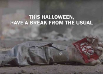 KitKat turns the zombie cliches upside down in Halloween spots 1