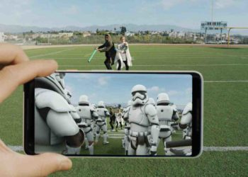 Google Pixel shows off 'The Force' of its AR stickers in new Star Wars-themed spot