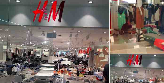 Protesters trash H&M store in South Africa over 'coolest monkey' product image 2