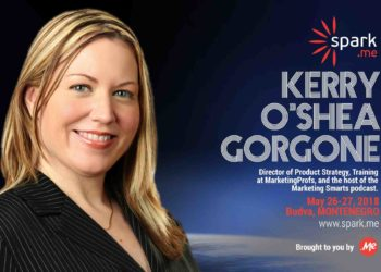 Spark.ME conference is bringing Kerry O'Shea Gorgone