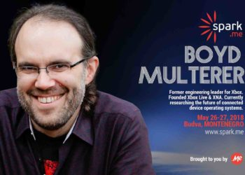 Boyd Multerer, Xbox's father of innovation is coming to Spark.me conference