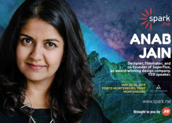 First confirmed speaker of Spark.Me 2019 Conference is Anab Jain 1